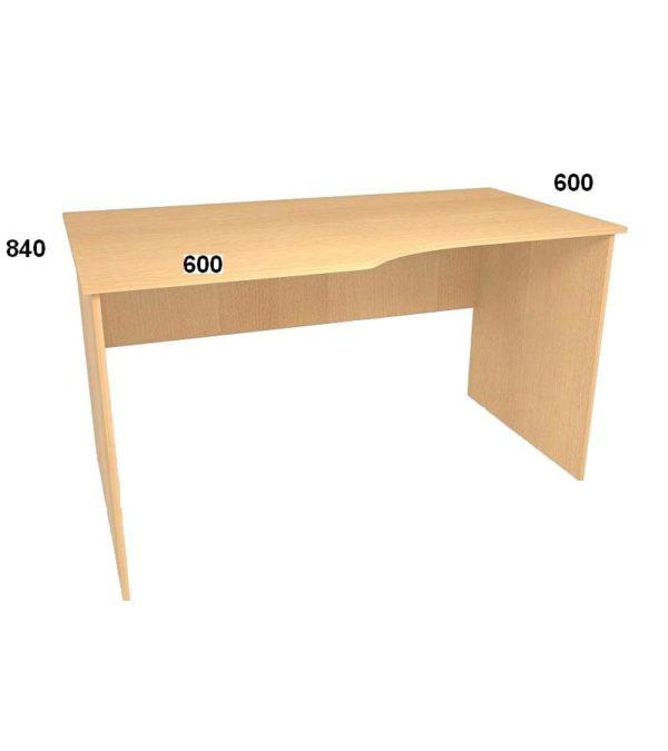 Стол письменный БЮ 115(116)