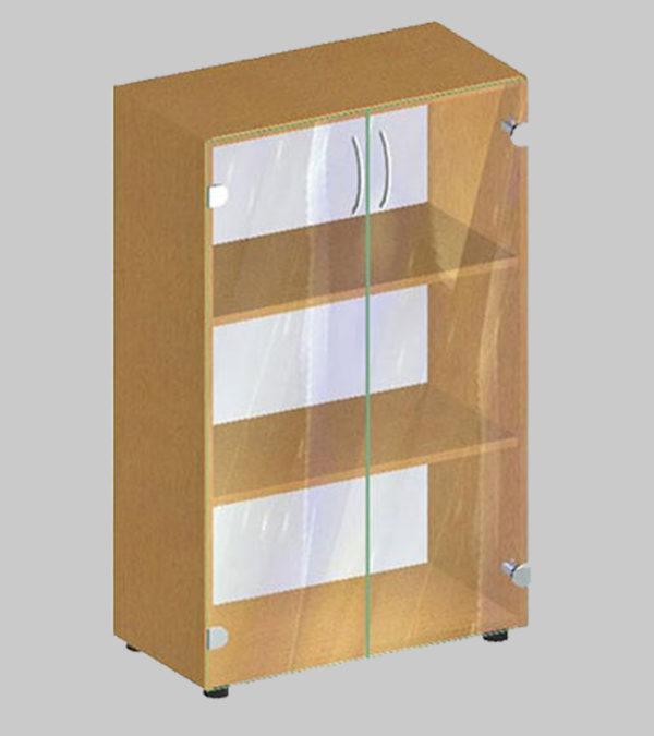 Стеллаж для документов со стеклом БЮ 410