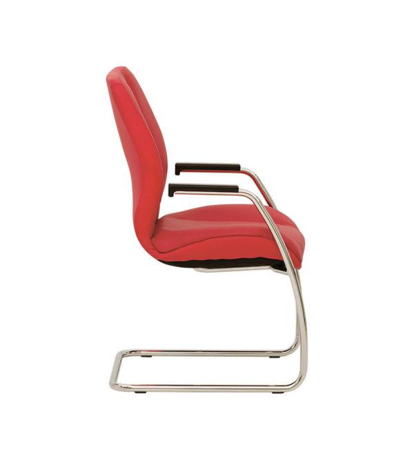 Кресло для посетителей Формула Хром CF/LB