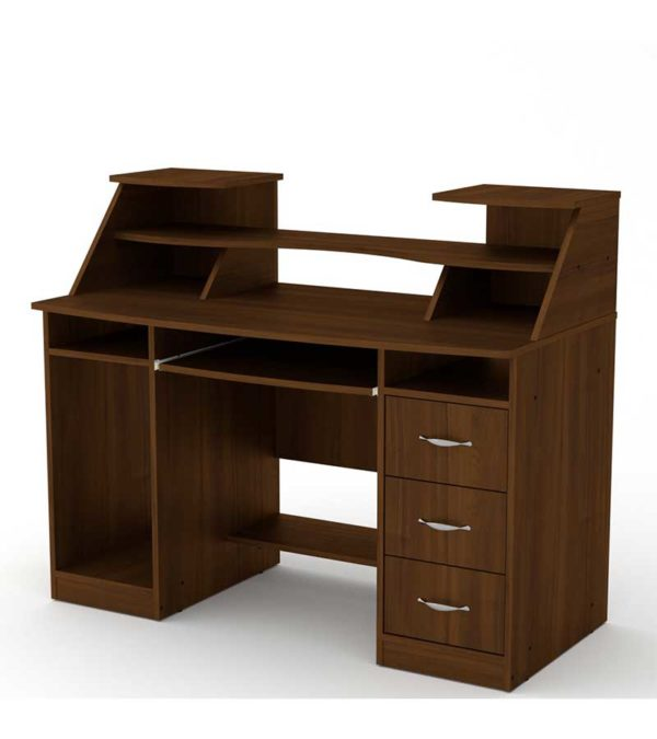Компьютерный-стол-Комфорт-5-орех-экко