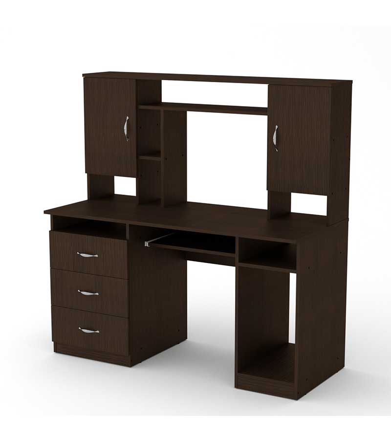 Компьютерный-стол-Менеджер-венге