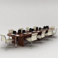 Стол для конференций 5200_1350_750 орех