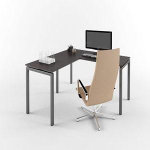 Стол на металлокаркасе ЛОФТ М-3