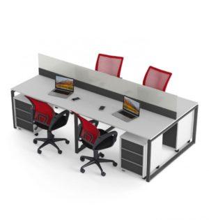 Стол с перегородкой Promo Q21_3